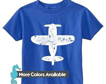 Fly Away Infant Shirt, airplane shirt, infant shirt, boys shirts, toddler tee shirts, toddler t-shirt, toddler birthday, baby boy shirt