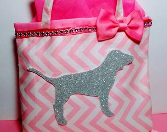 12 Love Pink Inspired Treat bags