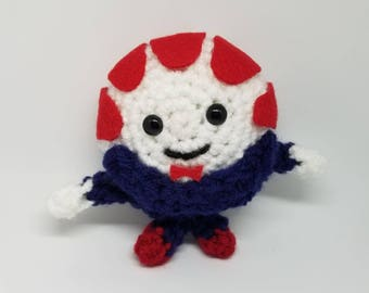 Crocheted Peppermint Butler from Adventure Time
