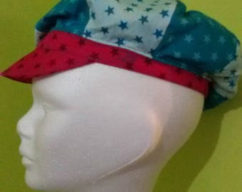 stars cotton newsboy cap