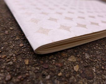 Soft book with white polka dots