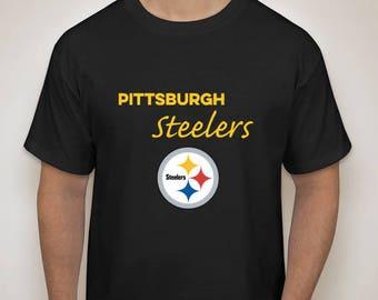 Pittsburgh Steelers T Shirts NFL Fantasy Football Steel Curtain