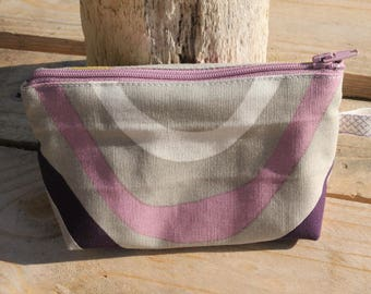 Lined purse / curve