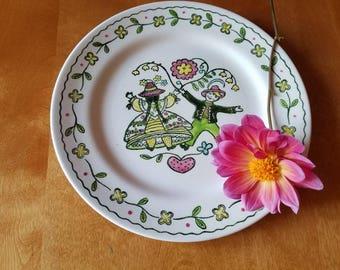 Vintage Poppytrail; Metlox California pottery