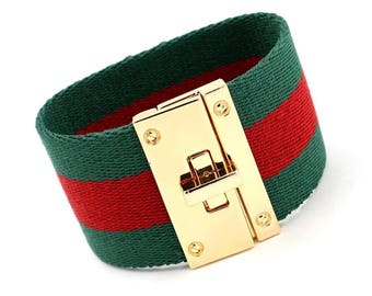 Custom made  High Quality inspired Gucci Bracelet