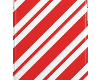 Candy Cane Stripes Christmas Phone Case - iPhone, iPod & Samsung Cover - Fun Cases