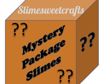 Mystery Package Slime! Cheap Slime Samples