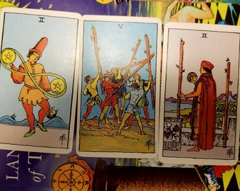 Past, Present, and Advice for the Future Tarot Reading