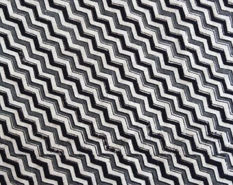 fabric, cotton, stripes, white, grey and black herringbone collection