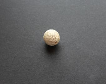 Pearl beige Rope twine 25 mm