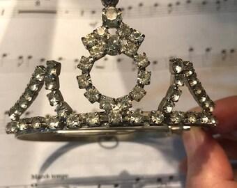 Bridal Our Little Miss Pageant Crown Vintage 1980s Tiara
