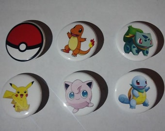 Pinback button set of 6