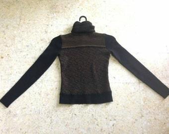 DKNY Jumper Knitwear girl 100 wool Small Size designer