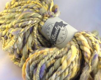 Slowly Yarn Merino silk alpaca hand-spun