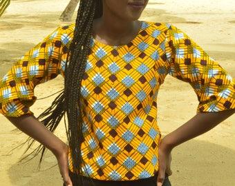 Pagne Wax 72 Dashiki Pagne Angelina Super Wax tissu africain