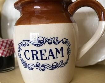 Vintage cream jug