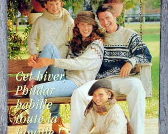 Creations 268 Phildar magazine - winter