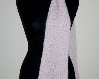 Antares: hand-woven mohair scarves