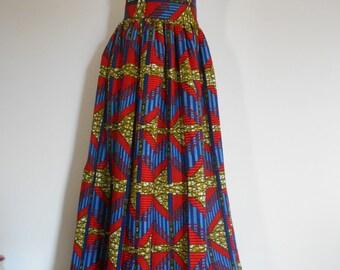 Long skirt in size 40.46 (Ankara) wax