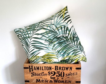 Cushion cover 40 X 40 leaves jungle ☆ ☆