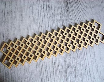 Frieze 1164 embellishment wooden creations