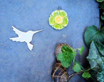 Hummingbirds 1954 embellishment wooden creations