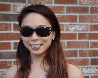 Swarovski Crystal Embellished Sunglasses