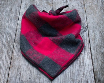 Lumberjack Plaid Dog Bandana