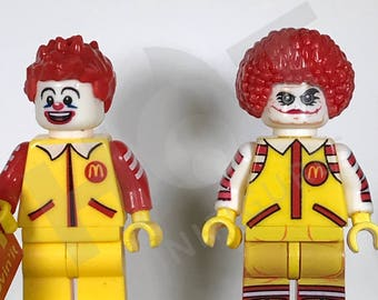Custom Ronald McDonald and Joker McDonald