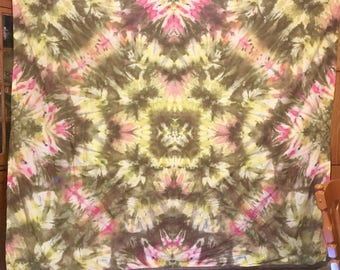 Ice Dye Tapestry, Queen