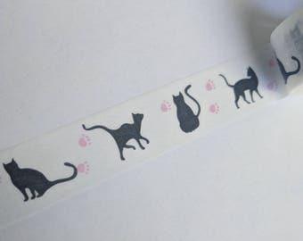 Cat Washi Tape Sample