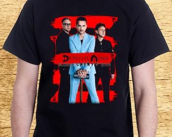 Depeche Mode Tshirt Tee   DM Spirit Tour Shirt S-2XL