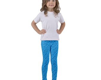 Jazzercise Princess Kida Leggings (KIDS' SIZING) Inspired by Atlantis