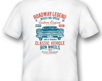Roadway Legend  built for speed tee shirt 08012016