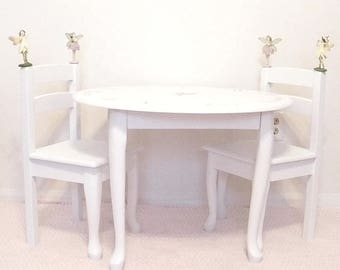 Good Girls Play Table, Childrens Table Set, Kids Furniture, Fairy Table, Table  Set