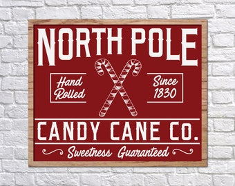 Joanna Gaines Christmas SVG, North Pole Cut File, Magnolia Market Christmas, Fixer Upper Christmas, Vector, Stencil, Print, Magnolia Farms