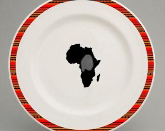 Ethiopian inspired cutlery and crockery