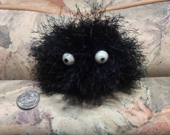 Crocheted Soot Sprite