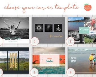 Choose your cover - template design for your Custom Photo Book purchase