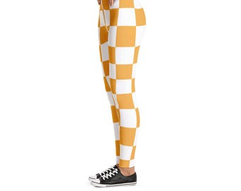 Tennessee Vols Checkerboard Women's Leggings