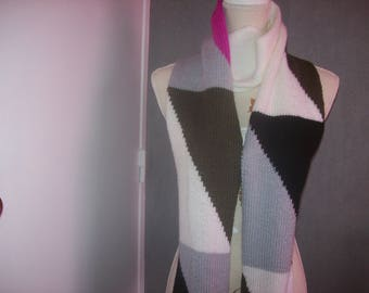 adult multicolored scarf