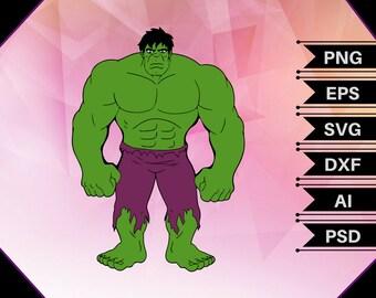 Hulk Superhero,hulk vector,hulk clipart,hulk cut file,hulk birthday,hulk printable,hulk print,hulk decor,hulk decal,hulk shirt