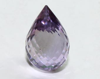 Natural Amethyst Faceted Teardrop Size- 12X9 mm 15 Ct Purple Amethyst Code-03
