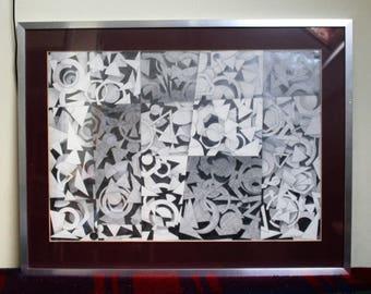 Original Abstract 'Shapes' by Jack Francis