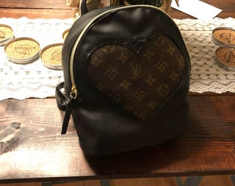 Authentic custoade lv backpack