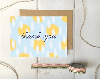 Cheerful Thank You Card