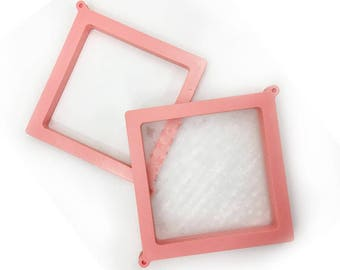 """Cookie Stencil Holder and Frame for 5""""x5"""" stencils with  Stencil Included"""