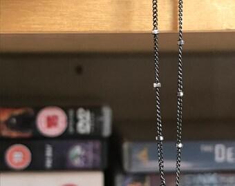 Silver Handmade Delicate Sparkly Chain