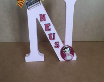 Custom wooden letters.Wood letters.Custom letters.Letras personalizadas.Letras madera.Regalo personalizado.Regalos aniversario.Regalo boda