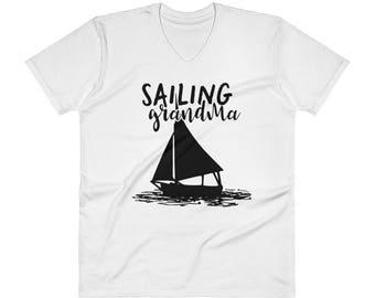 Sailing Grandma Shirt, For a Grandma who Loves Sailing
